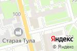Схема проезда до компании ГУБЕРНСКИЙ КОЛОДЕЗЬ в Туле