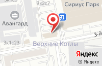 Схема проезда до компании Бриттон в Москве