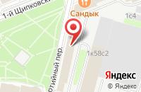Схема проезда до компании Сильвани в Москве