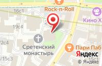 Схема проезда до компании Православный Издательский Фонд Во Имя Сретения Господня в Москве