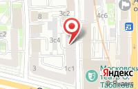 Схема проезда до компании Майа Студио в Москве