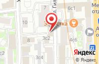 Схема проезда до компании Маршал Маркетинг в Москве