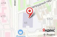 Схема проезда до компании Комтехносервис в Москве