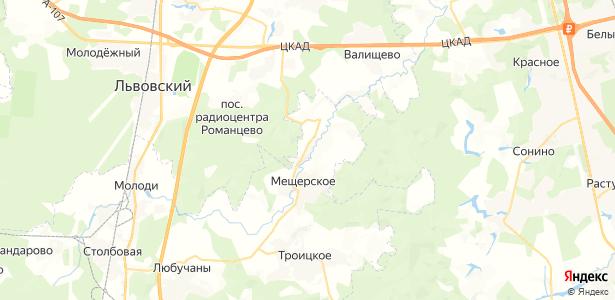 Ивино на карте