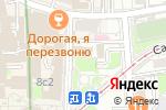 Схема проезда до компании Ретро подарок в Москве