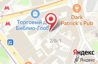 Схема проезда до компании Советник Эмитента в Москве