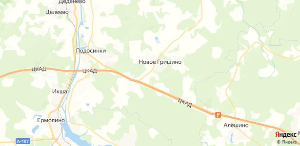 Мелихово на карте