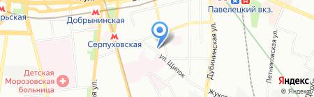 Художественная игрушка на карте Москвы