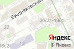 Схема проезда до компании Улищенко и партнеры в Москве