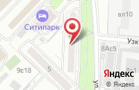 Схема проезда до компании Продюсерский Центр Сергея Харина - Дебют в Москве