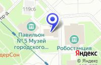 Схема проезда до компании ТФ RANBAXYLABORATORIES LTD. в Москве