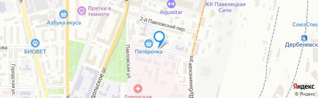 переулок Павловский 1-й