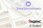 Схема проезда до компании Мир Красок в Москве