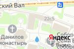 Схема проезда до компании Даниловская Лавка в Москве