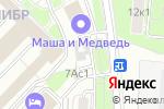 Схема проезда до компании Калибр в Москве
