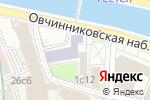 Схема проезда до компании Уральская горно-металлургическая компания в Москве