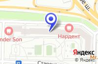 Схема проезда до компании АВТОШКОЛА МАСТЕР-КЛАСС в Москве