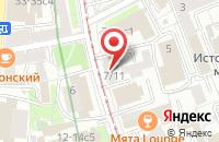 Схема проезда до компании Эволюшн Мьюзик Продакшн в Москве