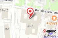 Схема проезда до компании Федеральный космический центр  в Москве