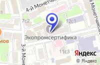 Схема проезда до компании ПТК САВАР в Москве