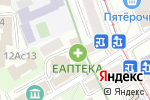 Схема проезда до компании Экспресс Регистратор в Москве