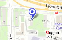 Схема проезда до компании ПТФ ЮНИК-ПРОМ в Москве