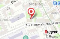Схема проезда до компании Новая Слобода в Москве