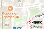Схема проезда до компании Народный банк в Москве