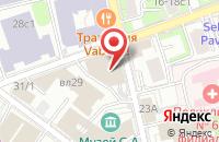 Схема проезда до компании Кодак в Москве