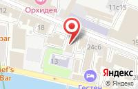 Схема проезда до компании Дизайн-Студия «Аканто» в Москве