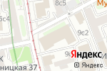 Схема проезда до компании RAIL1520 в Москве