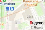 Схема проезда до компании Юридический Центр Территория Права в Москве