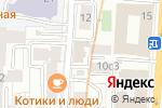 Схема проезда до компании Allwrite Studio в Москве
