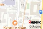 Схема проезда до компании Ренессанс Страхование в Москве