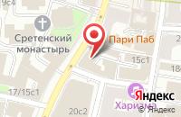 Схема проезда до компании Спортстройсервис в Москве