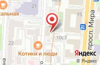 Схема проезда до компании Бренднейм в Москве