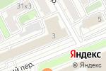 Схема проезда до компании Интерстрой в Москве