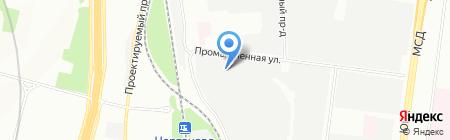 ЮниВеб на карте Москвы