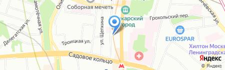 Альта на карте Москвы