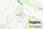 Схема проезда до компании МосПромТакелаж в Москве