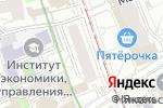 Схема проезда до компании Русский Лес в Москве
