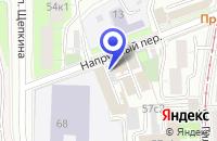 Схема проезда до компании БИКОРА в Москве