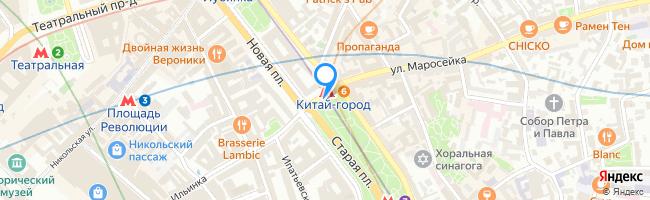 площадь Ильинские Ворота
