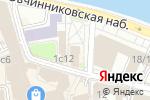 Схема проезда до компании Лауреат в Москве