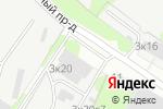 Схема проезда до компании СИПканХАУС в Москве