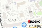 Схема проезда до компании FredericM в Москве
