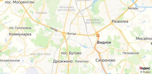Дубровский на карте