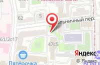 Схема проезда до компании Орхидея в Подольске