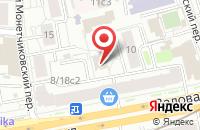 Схема проезда до компании Препресс-Сервис в Москве