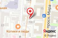Схема проезда до компании Энергоальянс в Москве